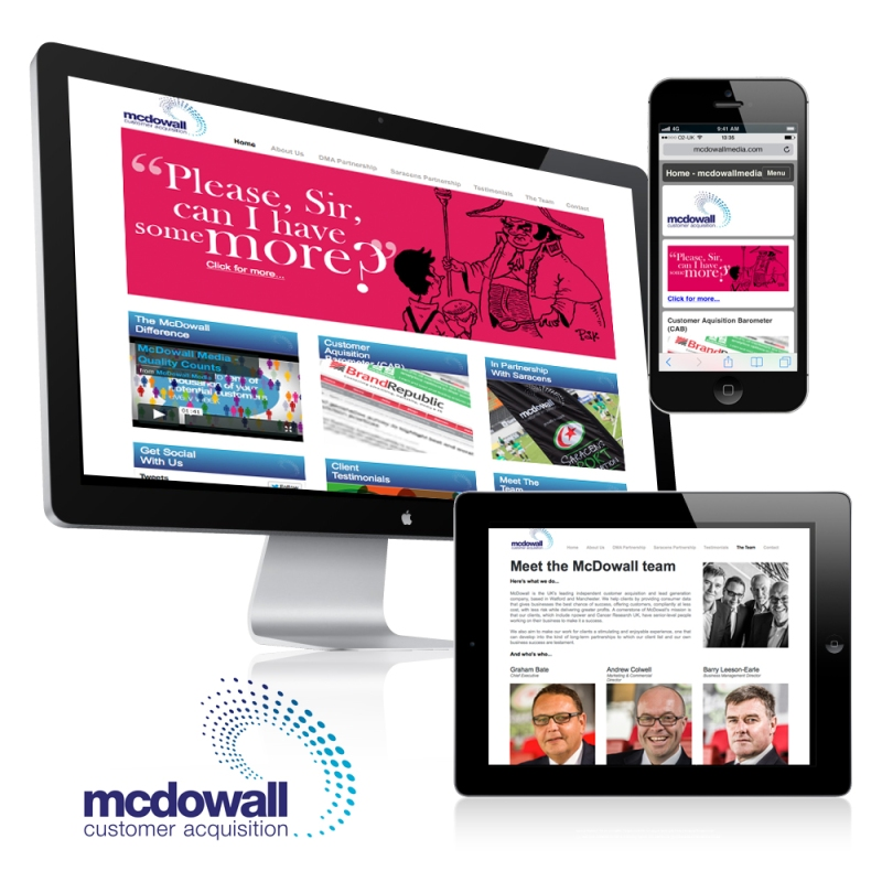 MCDOWALL MEDIA WEBSITE