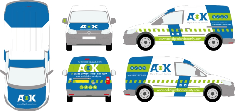 AOK VW CADDY V2